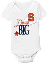 Syracuse Orange Dream Big Baby Onesie