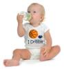 "Penn State Nittany Lions Basketball ""I Dribble"" Baby Onesie"
