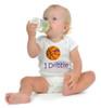 """Texas Christian Horned Frogs Basketball """"I Dribble"""" Baby Onesie"""