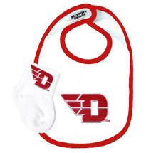 Dayton Flyers Bib and Socks Baby Set