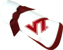 Virginia Tech Hokies Baby Receiving Blanket