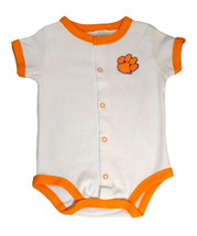 Clemson Tigers Baby Romper