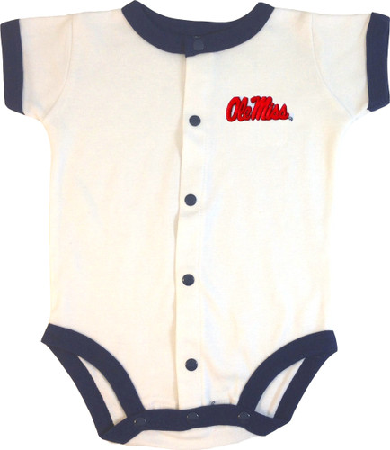Mississippi Ole Miss Rebels Baby Romper