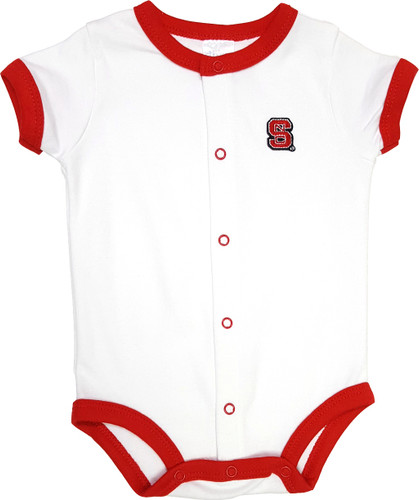 NC State Wolfpack Baby Romper