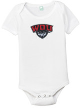 Western Oregon Wolves Team Spirit Baby Onesie