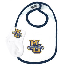 Marquette Golden Eagles Bib and Socks Baby Set