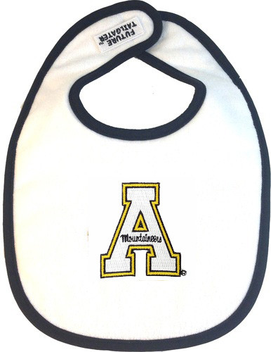 Appalachian State Mountaineers 2 Ply Baby Bib
