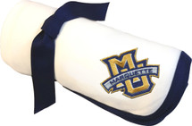 Marquette Golden Eagles Baby Receiving Blanket