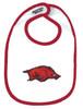 Arkansas Razorbacks 2 Ply Baby Bib