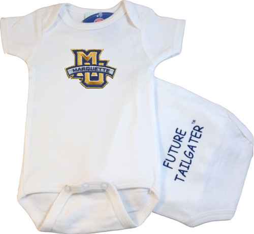 Marquette Golden Eagles Future Tailgater Baby Onesie