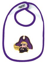 East Carolina Pirates 2 Ply Baby Bib