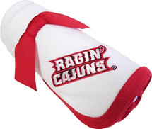 Louisiana Ragin Cajuns Baby Receiving Blanket