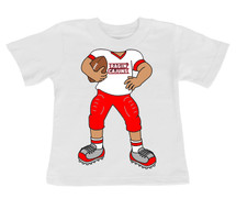Louisiana Ragin Cajuns Heads Up! Football Infant/Toddler T-Shirt
