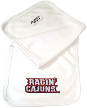 Louisiana Ragin Cajuns Baby Terry Burp Cloth