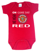 "Louisiana Ragin Cajuns ""On Gameday"" Baby Onesie"