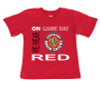 "Louisiana Ragin Cajuns ""On Gameday"" Baby/Toddler T-Shirt"