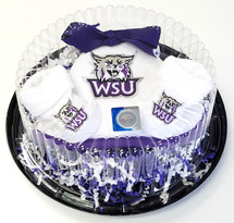 Weber State Wildcats Piece of Cake Baby Gift Set
