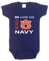 Auburn Tigers On Gameday Baby Onesie