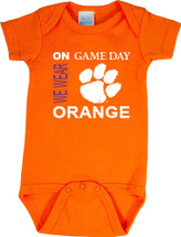 Clemson Tigers On Gameday Baby Onesie