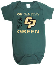 Cal Poly Mustangs On Gameday Baby Onesie