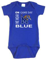 Memphis Tigers On Gameday Baby Onesie