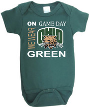 Ohio Bobcats On Gameday Baby Bodysuit