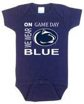 Penn State Nittany Lions On Gameday Baby Onesie