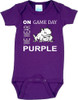 Texas Christian TCU Horned Frogs On Gameday Baby Onesie