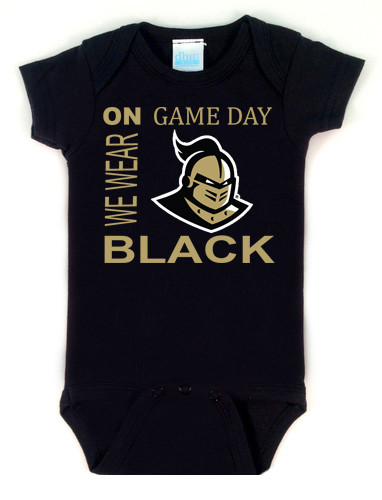 UCF Knights On Gameday Baby Onesie