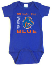 Boise State Broncos On Gameday Baby Onesie