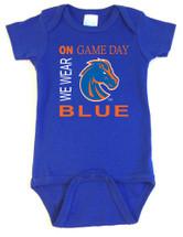 Boise State Broncos On Gameday Baby Bodysuit