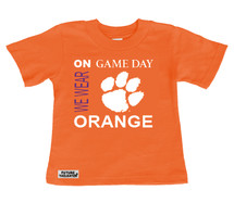 Clemson Tigers On Gameday Infant/Toddler T-Shirt