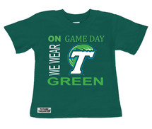 Tulane Green Wave On Gameday Infant/Toddler T-Shirt