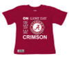 Alabama Crimson Tide On Gameday Infant/Toddler T-Shirt