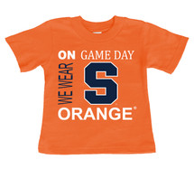 Syracuse Orange On Gameday Infant/Toddler T-Shirt