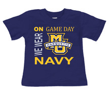 Marquette Golden Eagles On Gameday Infant/Toddler T-Shirt
