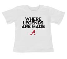 """Alabama Crimson Tide """"Legends"""" Infant/Toddler T-Shirt"""