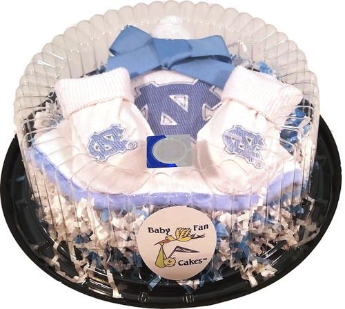 North Carolina Tar Heels Piece of Cake Baby Gift Set