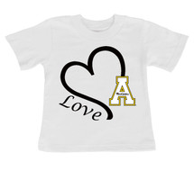 Appalachian State Mountaineers Love Infant/Toddler T-Shirt