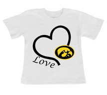 Iowa Hawkeyes Love Infant/Toddler T-Shirt