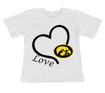 Iowa Hawkeyes Love Infant/Toddler T-Shirt