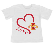 Iowa State Cyclones Love Infant/Toddler T-Shirt
