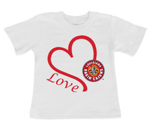 Louisiana Ragin Cajuns Love Infant/Toddler T-Shirt