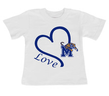 Memphis Tigers Love Infant/Toddler T-Shirt