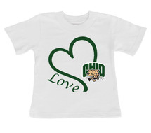Ohio Bobcats Love Infant/Toddler T-Shirt