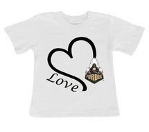 Purdue Boilermakers Love Infant/Toddler T-Shirt