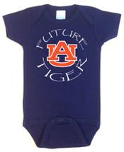Auburn Tigers Future Baby Onesie