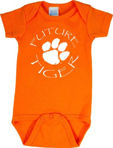 Clemson Tigers Future Baby Onesie