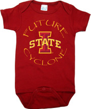 Iowa State Cyclones Future Baby Onesie