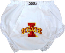 Iowa State Cyclones Eyelet Baby Diaper Cover